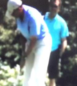 נשיא אובמה במגרש הגולף: בין החור ה-12 ל-13