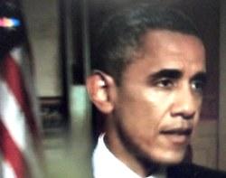 נשיא ברק אובמה בגן הוורדים: בעקבות קמרון מהאי הקטן?