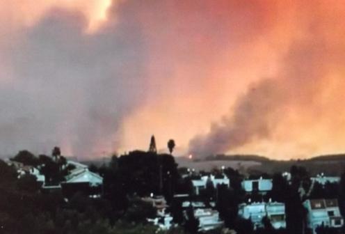 סוריה, דם ואש ותמרות עשן: רק תנו לשמאל  המדומה די חבל, וגם אצלנו זה ייראה כך