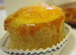 עוגת באר האהבה: זיגוג קרמל זהוב
