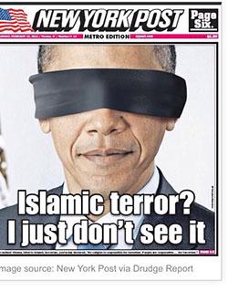 הנשיא אובמה על השער: טרור איסלמ? אני פשוט לא רואה אותו