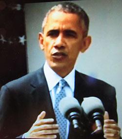 נשיא ברק אובמה: הסכם ויהי מה