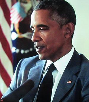 נשיא ברק אובמה: הפחד מפני