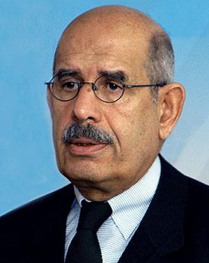 חתן פרס נובל לשלום אל-בראדעי: מאמצים