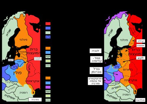 ההסכם לחלוקת המדינות הבלטיות בין הקומויסטים מרוסיה והנאצים מגרמניה, והביצוע בשטח (הקומוניסטים לא הצליחו לכבודש את פינלנד). מן הוויקיפדיה