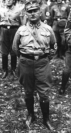 ארנסט ראהם, מפקד האס.אה (תצלום מהוויקיפדיה)
