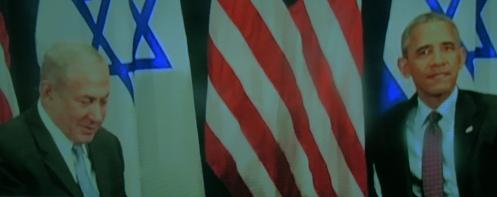 נשיא אובמה וראש ממשלה נתניהו: הנאום והתדריך