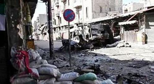 חורבנה של חאלב: השמדת-עם בסוריה (הצילום מהוויקיפדיה)