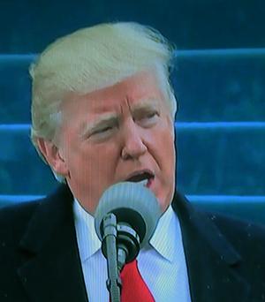 נשיא דונלד טראמפ: השטח שנשאר